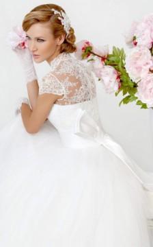 Свадебное платье каплун кукла